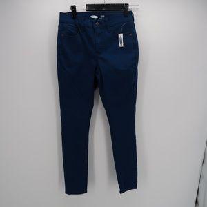 Old Navy Blue Super Skinny Rockstar Jeams Size 4P
